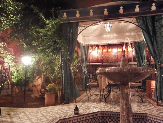 Riad Catalina, courtyard