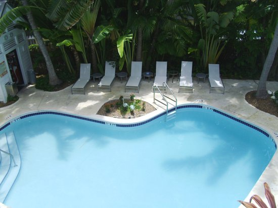 The Paradise Inn : View of Pool