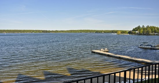 Madden's on Gull Lake: View from Sunrise Villa, Madden's Resort on Gull Lake, Brainerd MN