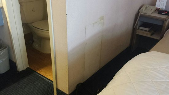 Red Roof Inn - Chattanooga Airport : Water damage.