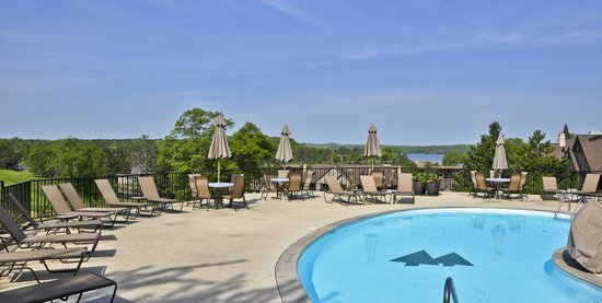 Madden's on Gull Lake: Pool area at Golf Club, Madden's Resort on Gull Lake, Brainerd MN