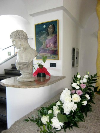 Park Hotel & Terme Romantica: рядом с зоной ресепшн