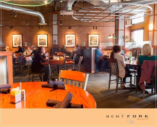 Bent Fork Grill: our dining room