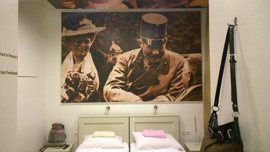 Hostel Franz Ferdinand: Двухместный номер на первом этаже.