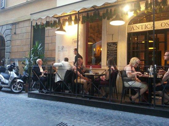 Restaurant brunetti : Dehor