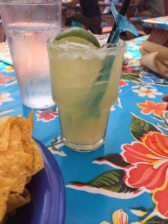 El Rayo Taqueria: Margarita for my sweetheart!
