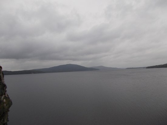 The Rose of Innisfree Tour Boat: Wide shot of Lough Gill