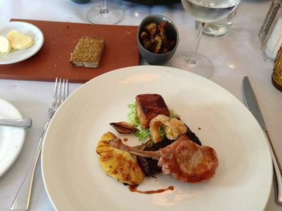 The Oakley Court: Delicious pork in 4 different forms