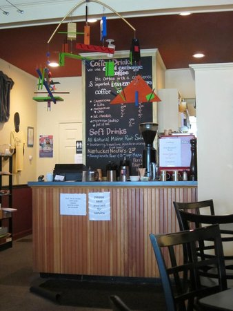 Cold Mountain Cafe: coffee board