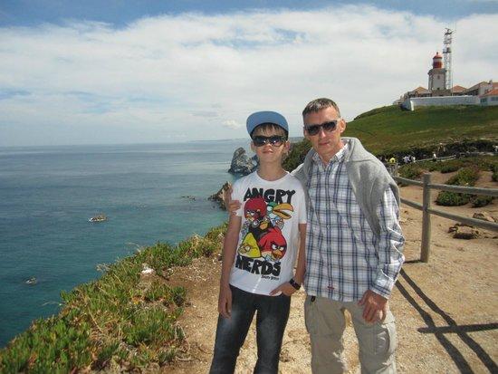 Cabo da Roca: На заднем фоне маяк