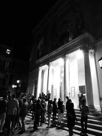 Teatro La Fenice : After the show - front of La Fenice