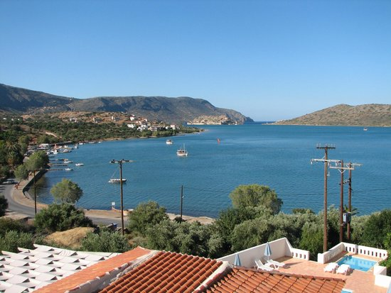 Selena Village: View from room 301 towards Spinalonga