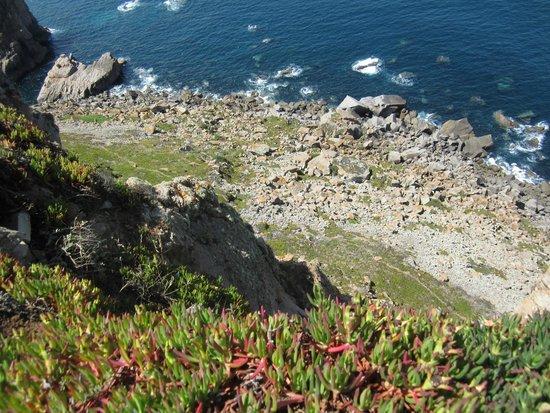 Cabo da Roca: А внизу....