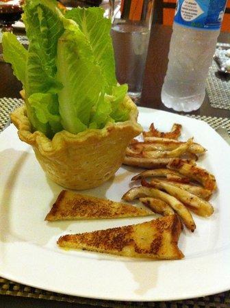 Hotel Villa Mercedes: insalata