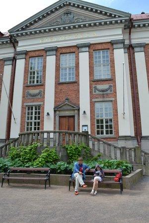 Bibliothèque de la ville de Turku : Центральный вход