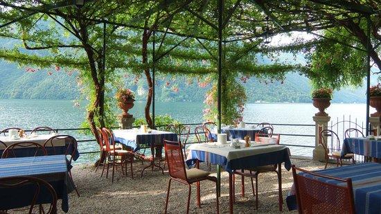 Hotel Stella d'Italia: Seeterrasse