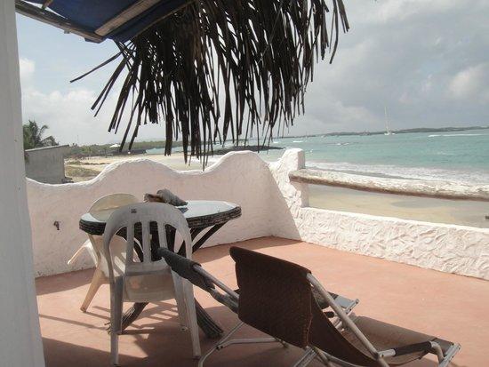 Hostal Galapagos: Terraza suite tercer piso