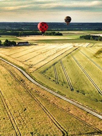 Aérocom Montgolfière : Mongolfière Chaumont