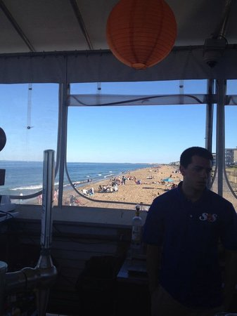 SurfSide5 Beach Bar & Grille: View from deck