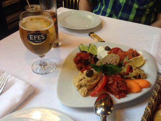 Amedros Cafe & Restaurant: Super entrée