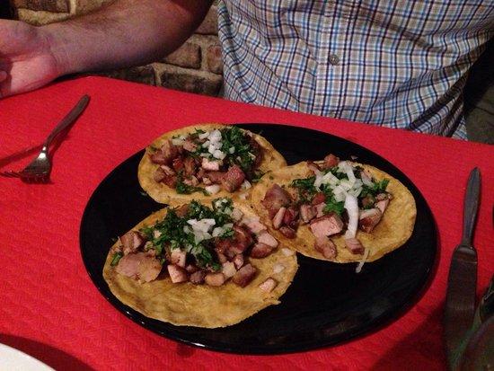 El Chibiski del Chilito: Taco carnitas