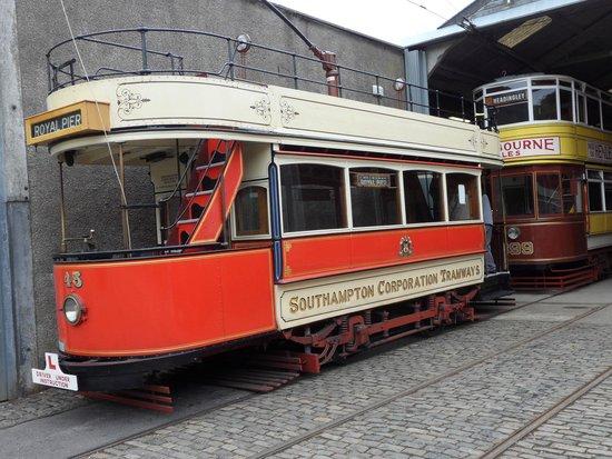 Crich Tramway Village: Southampton 45