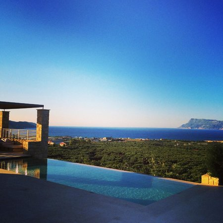 Youphoria Villas: The stunning view from Villa Plethora