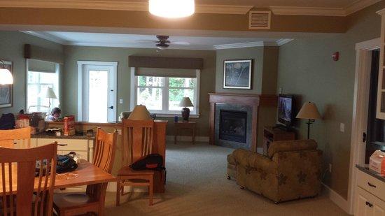 Smugglers' Notch Resort: Living room