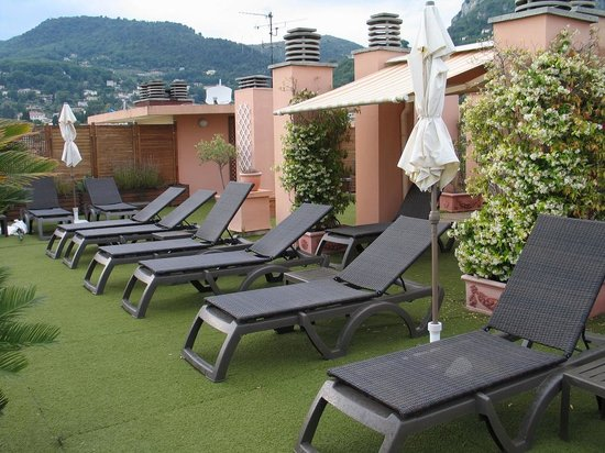 Vence, Hotel Diana - rooftop