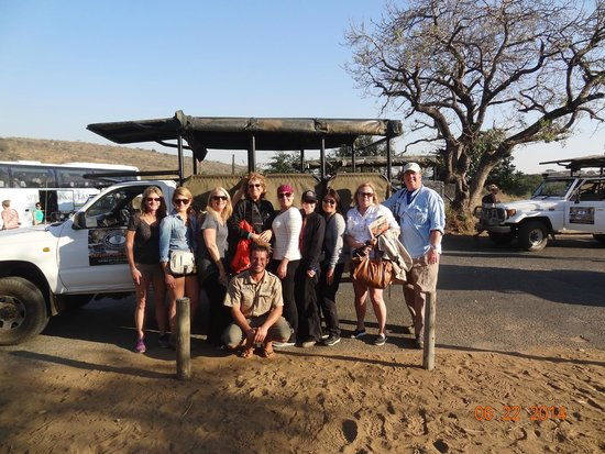 Heritage Day Tours & Safaris: Group Photo with Rick in the middle