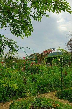 Claude Monet's House and Gardens: The garden area