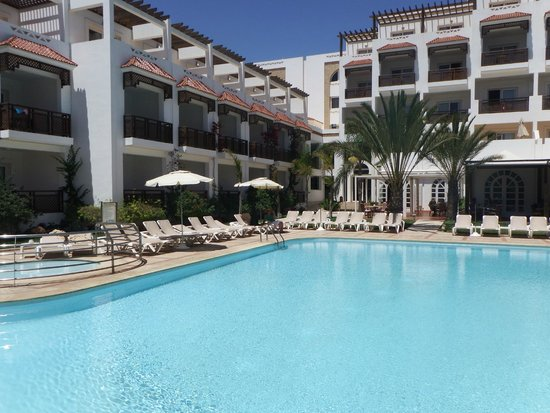 Hotel Timoulay & Spa Agadir: Hotel Timoulay, busy at 4:30pm!!