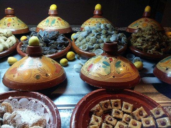 Club Marmara Madina : Pâtisseries orientales à la soirée marocaine