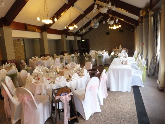 The Cock Hotel: wedding reception