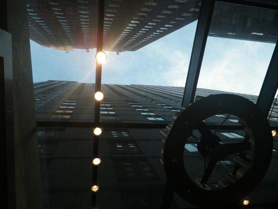 Staybridge Suites Times Square - New York City: vue de la salle a manger