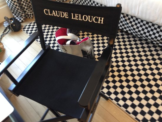 Le 123 Sebastopol - Astotel: we stayed in the claude lelouch room