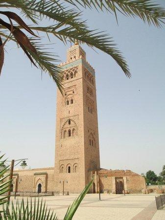 Mosquée et minaret de Koutoubia : The splendid Koutoubia Minaret