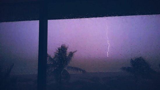 Ocean's Reach Condominiums: lightning