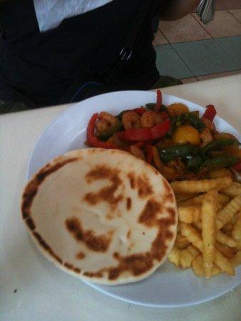 German Food Corner: Prawns