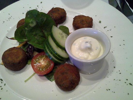 Hotel Kylestrome Bar & Grill : Haggis starter