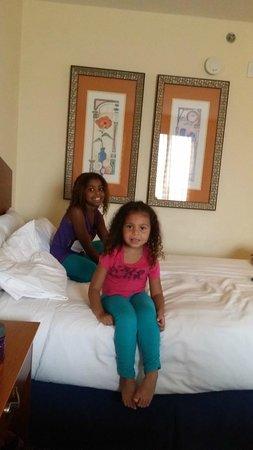 Hilton Naples: My girls