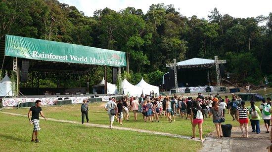 Village culturel Sarawak : RWMF 2014