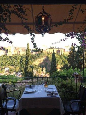 El Huerto de Juan Ranas : Our private patio