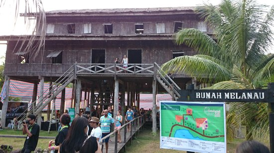 Village culturel Sarawak : Melanau House