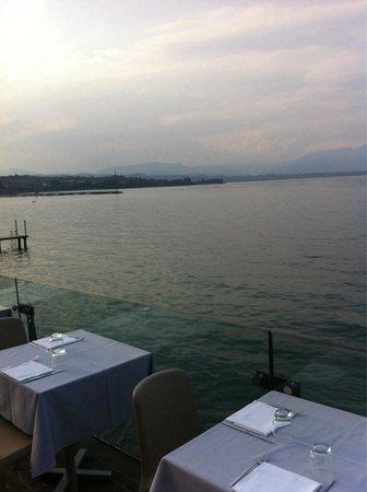 Great terrace - Picture of Le Terrazze, Desenzano Del Garda ...