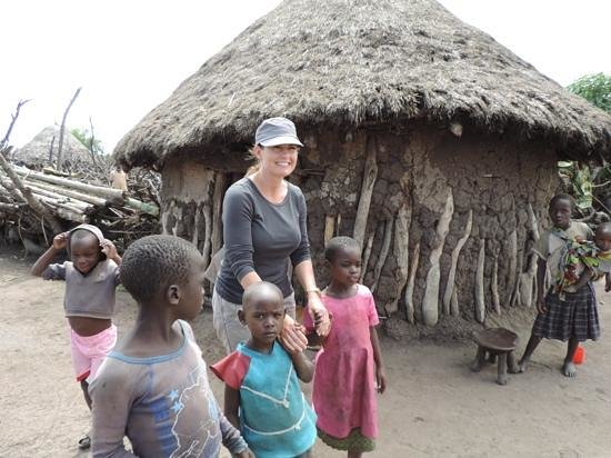 Singita Faru Faru Lodge: our host village children