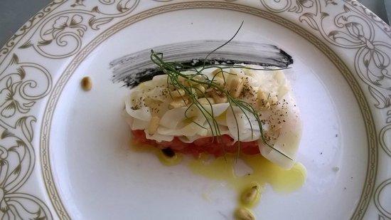 Grand Hotel Villa Igiea - MGallery by Sofitel: Cuttlefish salad