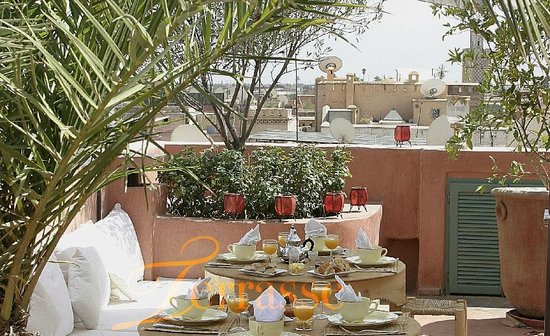 Riad Moullaoud : Terrasses