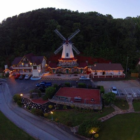 Heidi Motel: Aerial view from our trip