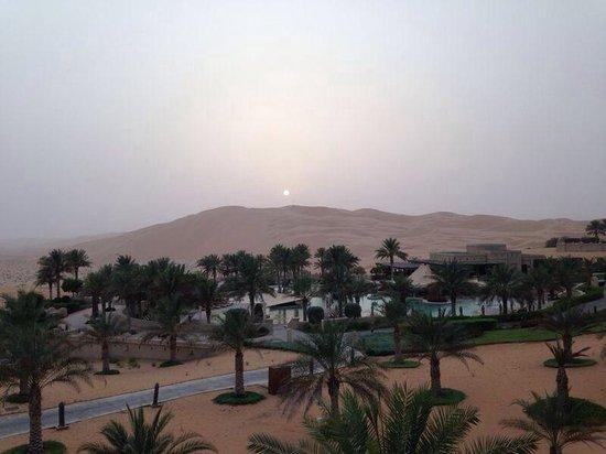 Qasr Al Sarab Desert Resort by Anantara : Sunset!